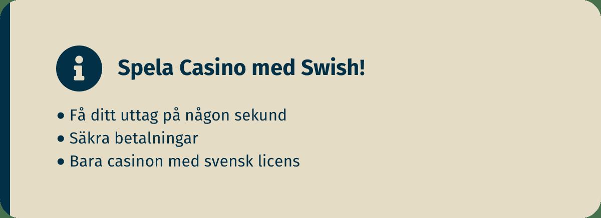 casino med swish